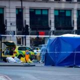 Flere civile overmandede terroristen Usman Khan, som 29. november begik et terrorangreb i centrum af London. En af de civile var en dømt morder.