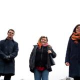 »Højtbegavede børn har nogle særlige behov,« siger Helle Brejnholdt Neiiendam (i midten). Hun er initiativtager til en ny skole i Roskilde for højt begavede børn. Caroline Stokholm Clemmensen og Jesper Høyer Zacho bliver henholdsvis formand og næstformand. De er alle forældre til højtbegavede børn og oplever, at de fungerer dårligere socialt, bliver misforstået og mistrives i det almindelige skolesystem.