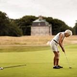 Sunde og mere og mere velhavende seniorer har forøget deres forbrug mest af alle aldersklasser over de seneste 25 år. Arkivfoto fra Københavns Golfklub i Dyrehaven.
