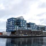 En containerstabel, et skib eller en flippet husbåd i overstørelse og med drivhuse på taget? Der er meget billedstof i Copenhagen International Schools nye bygning.
