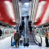 ARKIVFOTO: Cityringen har nu kørt i rotation i Københavns undergrund i lidt over tre måneder, og langt det meste af perioden er den afgået til tiden, viser ny opgørelse fra Metroselskabet.
