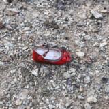 En barnesko ligger tilbage på stedet, hvor flyet fra Ukrainian International Airlines styrtede ned kort efter start fra lufthavnen i Teheran i Irans hovedstad. Flere oplysninger tyder på, at flyet kan være ramt af en raket, i timerne efter at Iran gennemførte et raketangreb mod to baser i Irak med amerikanske soldater onsdag morgen. Borna Ghassemi/Ritzau Scanpix