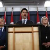 På et pressemøde lørdag gjorde den canadiske premierminister Justin Trudeau det klart, at Iran må tage det fulde ansvar for nedskydningen af ukrainsk passagerfly.