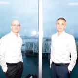 Forretningsdirektør Kenneth Ohlendorff (tv.) og adm. direktør Lars Pærregaard tegner den nye ledelse i Kereby, som er den danske del af Blackstone.