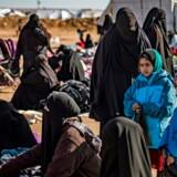 Den 29-årige norsk-pakistaner har opholdt sig i al-Hol-lejren i Syrien med sine to børn. Arkivfoto: Delil Souleiman/AFP/Ritzau Scanpix