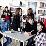 Amager Fælled Skole er en af de københavnske folkeskoler, hvor antallet af tosprogede elever er faldet. På ti år er andelen gået fra 52 procent til 24 procent.
