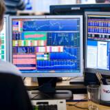 Danskerne fravalgte i 2019 i stor stil investeringsforeninger, der specialiserer sig i danske aktier. I stedet købte de danske investorer op i udenlandske aktier og obligationer. Det danske C25-indeks steg dog 26 pct. i det forgangne år. Arkivfoto: Jens Nørgaard Larsen/Ritzau Scanpix