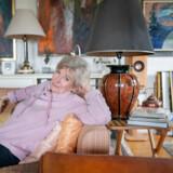 Balletdanseren Vivi Flindt fotograferet i sit hjem på landet i Nordsjælland. Viljestyrken og disciplinen har været kræfter, hun har mobiliseret, når hun har skulle overkomme livets udfordringer.