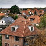 Her ses huse i et villakvarter i Brønshøj. De danske boligejere har været flittige som aldrig før til at låne penge i værdien i deres hjem.