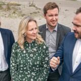 »Jeg synes, man skal leve op til de principper, man praktiserer over for resten af verden,« siger Ida Auken (R), og det mener hun ikke, at regeringen gør, hvis det ender med at tillade ny oliejagt i Nordsøen. Her ses Ida Auken sammen med bl.a. klima- og energiminister Dan Jørgensen (til højre).