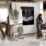 Hjördis Haack, der er aktuel på Grønningens udstilling i Den Frie Udstillingsbygning, er en af de 23 kunstnere der har atelier i Kunstnerhuset i Classensgade.