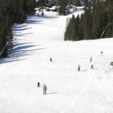 Arkivfoto. Norge er et populært skiferiemål for især mange danske børnefamilier. De risikerer nu at få skiferien ødelagt på grund af dårligt vintervejr.