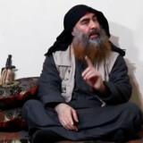 I oktober mødte den forhadte IS-leder Abu Bakr Al-Baghdadi (billedet) sin død i en tunnel under sit hus. Men blot få timer senere udnævnte Islamisk Stat en ny leder. Og nu er spioner begyndt at få et indtryk af, hvem han er. Arkivfoto: AFP/Ritzau Scanpix