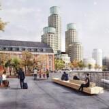 Området, der førhen husede Københavns Postterminal, skal omdannes til en ny levende del af København med »boliger, byliv og business«.