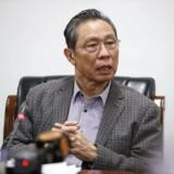 Videnskabsmand og læge Zhong Nanshan ses her ved en pressekonference i Beijing 20. januar.
