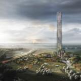 Bestseller har trykket på pauseknappen, når det gælder planen om at bygge en skyskraber og en ny bydel i virksomhedens hjemby Brande.