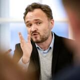 Klimaminister Dan Jørgensen (S) oplever et erhvervsliv, der har en klar forståelse for, at løsningen på klimakrisen ikke alene er nødvendig, men også kan skabe muligheder for dansk erhvervsliv. Arkivfoto: Ida Guldbæk Arentsen/Ritzau Scanpix