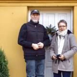 Jon og Eva Terry har købt en lille nedlangt landejendom tæt på Vesterhavet.