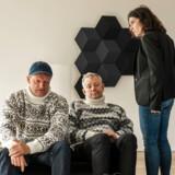 Casper Christensen og Frank Hvam får voksen-skæld ud af Mia Lyhne I »Klovn - the Final«