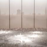 En ny, interaktiv bymodel over København står klar, når Københavns Museum på fredag genåbner i Stormgade. Københavns skyline i baggrunden er taget med et 360 graders-kamera fra toppen af Rundetårn.