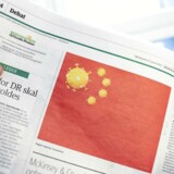 »Ikke et øjenbryn blev løftet på grund af den tegning – hvor god eller dårlig den end måtte være – før den kinesiske ambassade gik amok i undskyldningskrav,« skriver Mikkel Andersson.