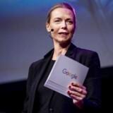 Malou Aamund, der er adm. direktør for Google i Danmark, mener, at kunstig intelligens bliver noget af det mest afgørende for virksomhedernes succes. Men hun frygter, at mange mindre firmaer ikke kommer med på vognen. Arkivfoto: Liselotte Sabroe/Ritzau Scanpix