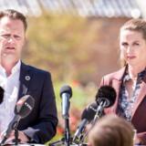 Nuværende udenrigsminister Jeppe Kofod og statsminister Mette Frederiksen fra Socialdemokratiet præsenterede sidste år deres udspil til europaparlamentsvalget.