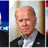 Her er de fem mest populære præsidentkandidater blandt Demokraterne. Hvem af dem, der løber med sejren i Iowa, er stadig usikkert.