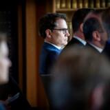 Brian Mikkelsen, direktør i Dansk Erhverv, mener, at det er for få kvinder på chefgangene.