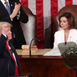 Nancy Pelosis blik fortalte det hele, og ingen kunne misforstå hendes tavse kommentar til Donald Trumps tale.