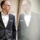 Frank Vang-Jensen fremlægger årsregnskab for Nordea, hvor han tog over i september 2019.