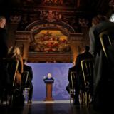 Boris Johnson holdt mandag tale i Greenwich observatoriet for en række spidser fra det britiske erhvervsliv. Premierministeren har fået ros for talen, hvor han nok en gang præsenterede sin vision for et Storbritannien uden for EU.