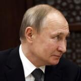 Præsident Putin er ved glimrende helbred og kan let fortsætte ved magten forbi sin 70-årsfødselsdag i 2022. Men noget tyder på, at han er begyndt at tænke på sin tilbagetrækning – og sit eftermæle. Her er han på besøg i Betlehem i januar.