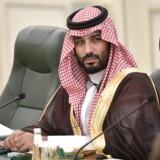 Da Saudi-Arabiens kronprins, Mohammed bin Salman, kom til magten, lovede han et væld af nye, sociale reformer, som skulle sikre befolkningen større frihed. Men med den anden hårdt begyndte han at slå dobbelt så hårdt ned på kongedømmets kritikere. Arkivfoto: Alexey Nikolsky/EPA/Ritzau Scanpix