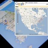 Sådan så Google Maps ud ved premieren i februar 2005 – resultatet af to danske brødres arbejde gennem flere år. De revolutionerede navigationen, som vi i dag næsten alle sammen har i lommen, enten fra Google eller fra en af de mange øvrige kortproducenter.