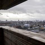 Selv på en grå januardag er udsigten fra toppen af Charlottetårnet uendeligt fascinerende.