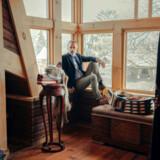 Jordan Peterson, som verden har lært ham at kende – en professor i psykologi, en forfatter og et intellektuelt ikon, som har solgt tre mio. eksemplarer af sin guide til tilværelsen. Og samtidigt kæmpede med sine egne dæmoner. Foto: Mark Sommerfeld/The New York Times