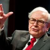 Warren Buffett er blevet verdens fjerde rigeste mand på sin sans for investeringer, men det er ikke alle hans satsninger, der ender lige godt. I sidste uge tabte han over en mia. dollar på sin investering i Kraft Heinz. Arkivfoto: Nicholas Kamm/AFP/Ritzau Scanpix