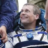 I den seneste tid er det ellers næsten faste smil forstummet fra Andreas Mogensens ansigt. Her er han netop landet i Kasakhstan 12. september 2015 efter sin vellykkede mission til rumstationen ISS. Først om ca. fire år kan han forvente en ny, kort mission – og Månen er udelukket.