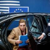 Statsminister Mette Frederiksen (S) har sammen med sine allierede foreløbig stået fast på sine krav i de aktuelle budgetforhandlinger i Bruxelles. Nu truer et sammenbrud.
