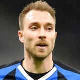 Christian Eriksen og Inter risikerer at skulle spille bag lukkede døre torsdag aften.
