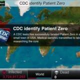 Den første patient er inficeret i mobilspillet Plague Inc., og nu gælder det om at få smitten spredt mest muligt i verden. Mobilspillet har i årevis været populært i Kina, men er nu blevet forbudt.