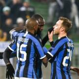 ARKIVFOTO: Eriksen og Inter får udsat kamp mod Juventus