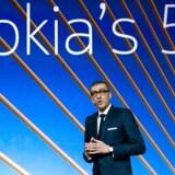 Nokias topchef gennem seks år, Rajeev Suri, træder tilbage til september.
