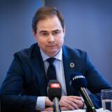 Mens den svenske finansminister holder økonomisk briefing med autoritet og tyngde, træder finansminister Nicolai Wammen (S) vande. Arkivfoto: Niels Christian Vilmann/Ritzau Scanpix