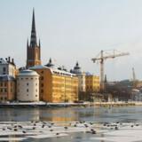 Det er et dystert Stockholm, vi præsenteres for i Tom Malmquists »Al den luft, der omgiver os«.