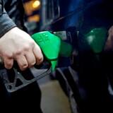 Bilister kan se frem til store prisfald på benzinen, efter at olieprisen er styrtdykket. Arkivfoto: Kristoffer Juel Poulsen/Ritzau Scanpix