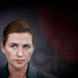 I kampen mod coronavirus er der meget på spil for både Danmark, statsminister Mette Frederiksen (S) og mange andre danskere. Foto: Liselotte Sabroe/Ritzau Scanpix