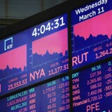 Aktier er røde overalt igen torsdag. Coronavirussen skaber panik på finansmarkedet.
