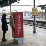 Roskilde Station var en del mere stille end sædvanligt dagen efter de nye coronainitiativer fra regeringen.